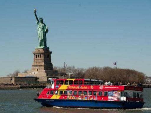 Super New York - Empire State Building, Statue of Liberty & Hop-on Hop-Off  Bus Tour