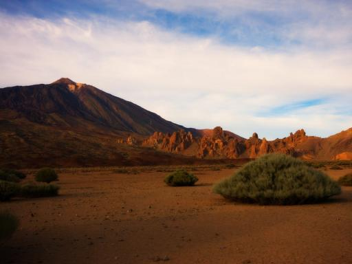 Barren Teide National Park