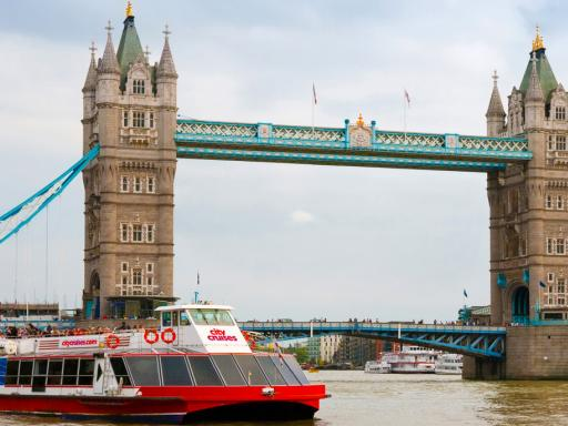 Visit to The Tower of London and Thames Sightseeing River Cruise for Two