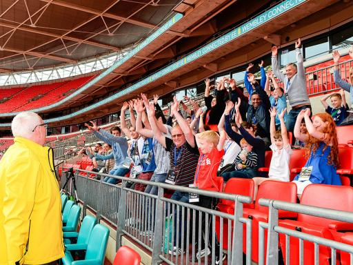 Wembley Stadium Tour with Meal for Two - Experience Voucher