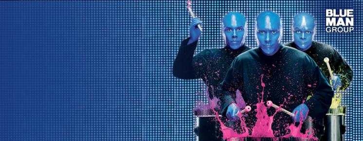Blue Man Group X Files Theme 16