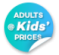 Adults at Kid's Prices Sale