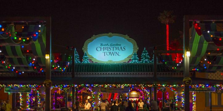 Busch gardens transforms into christmas town - Busch gardens christmas town prices ...