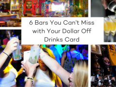6 Bars You Can't Miss with Your Dollar Off Drinks Card Save yourself money on your drinks on your Orlando holiday!