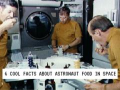 6 Cool Facts About Astronaut Food in SPACE!  (and an out-of-this-world offer!)