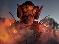 New Wicker Man Ride Opens at Alton Towers!