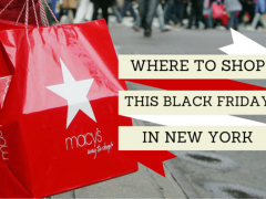 Where to go Black Friday Shopping in New York