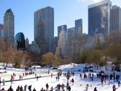 wollman rink ice skating central park