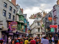 Diagon Alley Opens at Universal Studios Florida
