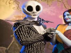 Jack and Sally Skellington