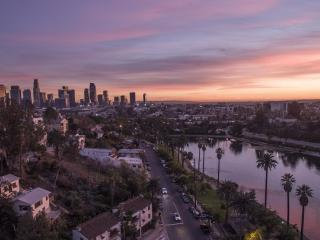 Los Angeles sunset photography
