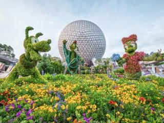 Epcot Will Bloom for 90 days for the 25th International Flower and