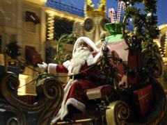 Father Christmas at Disney World