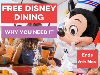 Disney's Free Dine Offer: Why You Need it!