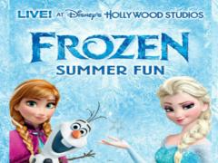 Frozen Summer Fun Live at Disney World