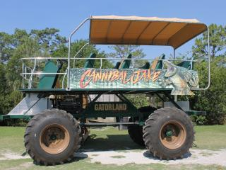 Goin' Cattywampus on Gatorland's Stompin' Gator! By ATD's Florida Experts, Susan and Simon Veness