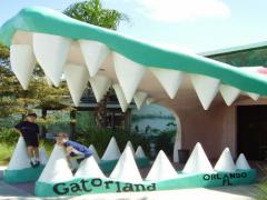 Gator mouth Gatorland
