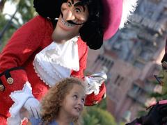Captain Hook and Maleficient at Disney's Hollywood Studios