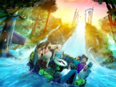 Date Announced for Infinity Falls Grand Opening at SeaWorld Orlando The day has finally arrived