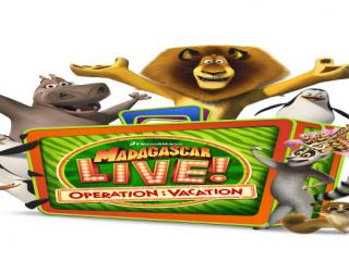 Madagascar Live: Operation Vacation Characters SeaWorld/Las Vegas