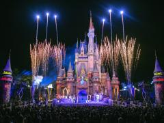 After Hours at Magic Kingdom at Walt Disney World Resort in Florida