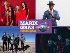 Universal Orlando's Mardi Gras 2017 Acts Announced