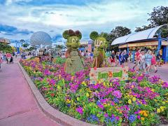 Epcot's Flower Power Season