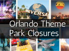 Orlando Theme Park Closures Due to Hurricane Matthew