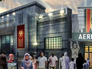 The World's First Hunger Games Attractions Open Raise your Mockingjay salute!