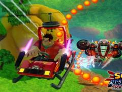 Wreck it Ralph in Sonic All Stars Racing