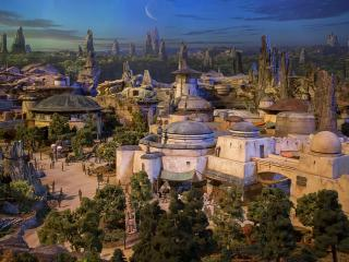 Star Wars Land Model Revealed! Breaking news from the Disney D23 Expo…