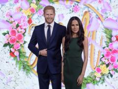 Meghan Markle and Prince Harry Waxworks Revealed at Madame Tussauds London