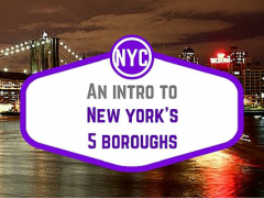 An intro to NYC's five boroughs