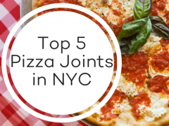 Top 5 Pizza Joints in New York City Warning: this post will make you hungry.