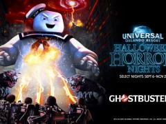 Ghostbusters themed house at Universal Orlando Halloween Horror Nights 2019