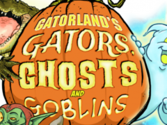 gatorland gators ghosts and golbins halloween