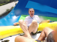 Aquatica's New Ride Is A Real Rush! By ATD's Florida Experts, Susan and Simon Veness