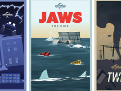 Check Out These Amazing Retro Ride Posters from Universal Orlando Resort