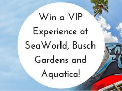 WIN an Amazing VIP Experience at SeaWorld Live like a VIP on us...