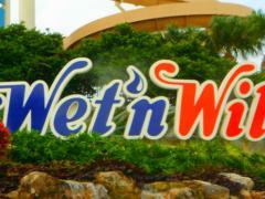 Wet n Wild sign