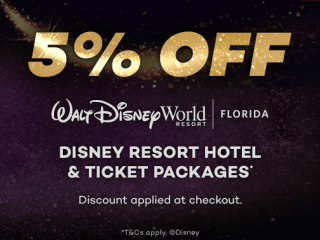 Black November 5% OFF Disney World Hotels Package
