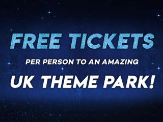 Enjoy FREE UK Theme Park Tickets on Us!