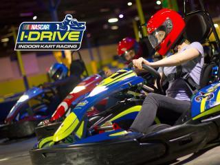 Free I-Drive NASCAR Go Karting Race and a Free Meal