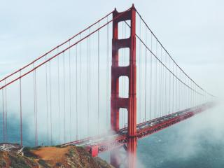 The Golden Gate Bridge and other San Francisco attractions