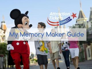 ATD's Guide to Using Disney's My Memory Maker