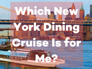 Which New York Dining Cruise Is for Me? Cruising made simple.