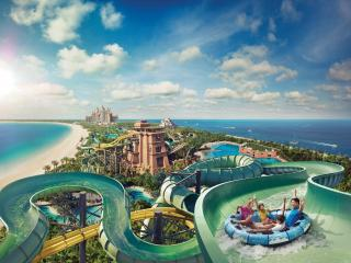 Atlantis Aquaventure Waterpark The largest and most exciting waterpark in the Middle East!