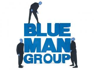 Blue Man Group Las Vegas Paint it blue!