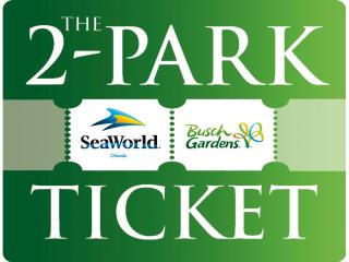 SeaWorld and Busch Gardens 2 Park Tickets