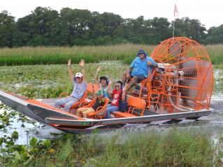 Boggy Creek One Hour Scenic Nature Airboat Ride